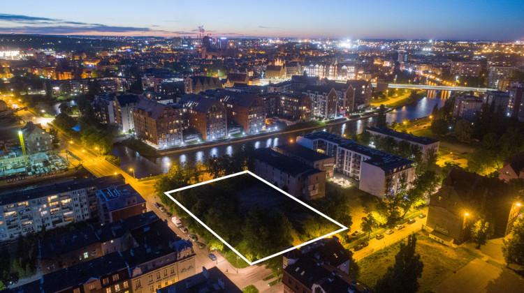 Nowa zabudowa stanie pomiędzy ulicami Kamienna Grobla, Toruńska i Jałmużnicza.