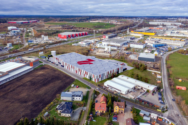7R City Flex Gdańsk II położony jest tuż przy trójmiejskiej obwodnicy.