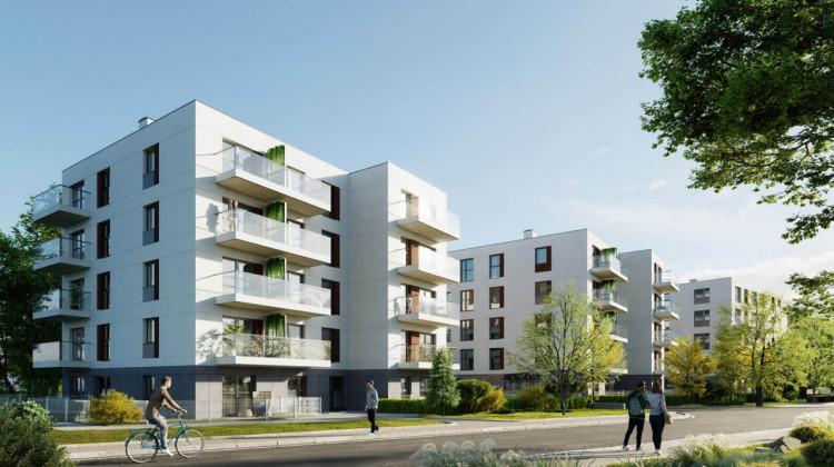 Kameralne osiedle ostatecznie składać się będzie z budynków trzy- i czterokondygnacyjnych.