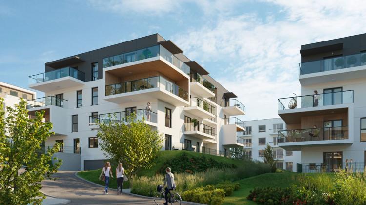 Do mieszkań przylegać będą obszerne balkony, a do lokali na parterze indywidualne ogródki.