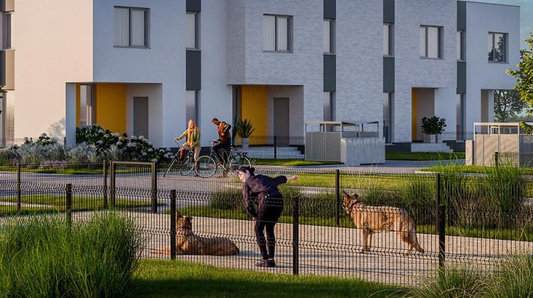 Domy na osiedlu Optima powstaną w ostatnim etapie zabudowy - do czerwca 2023 roku.