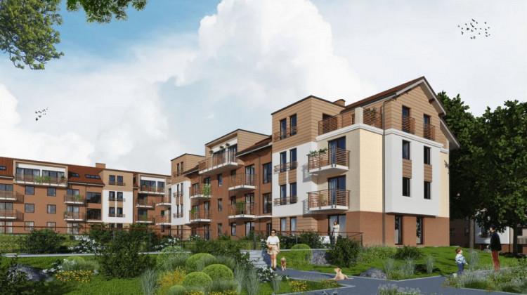 Spokojna architektura zabudowy pozwoli stworzyć przyjazne miejsce do życia.