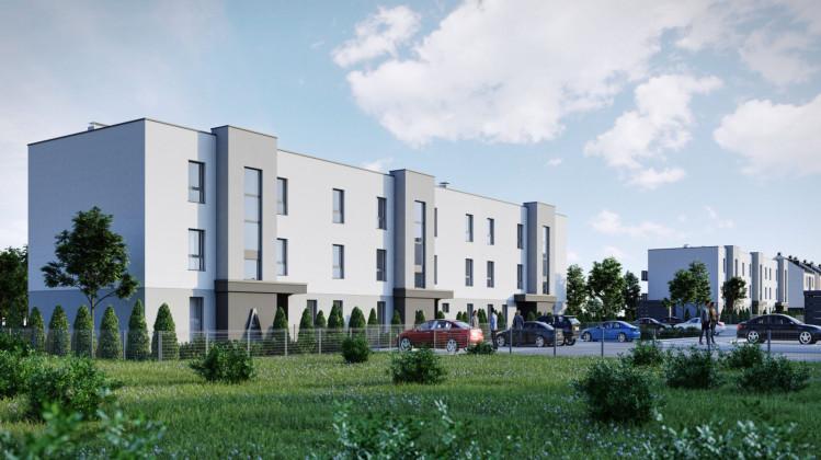 W trzykondygnacyjnych budynkach powstają zaledwie trzy mieszkania, dzięki czemu łatwo tu będzie stworzyć sąsiedzką atmosferę.