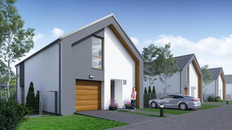 Każdy z wolnostojących domów będzie miał ok. 120 metrów powierzchni mieszkalnej i ponad 125 m kw. powierzchni całkowitej.