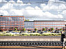 Budynek będzie miał cztery kondygnacje od strony Galerii Metropolia. W wyższej części będzie miał sześc kondygnacji.