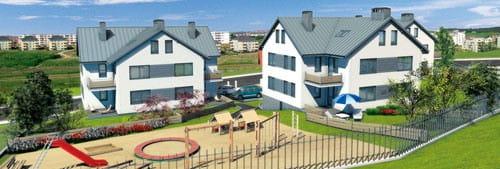 Zgodnie z nazwą, Osiedle TRIO to kompleks trzech budynków wielorodzinnych.