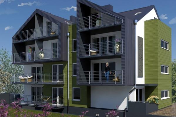 W kameralnym budynku przy ulicy Derdowskiego w Rumii powstanie 9 mieszkań.