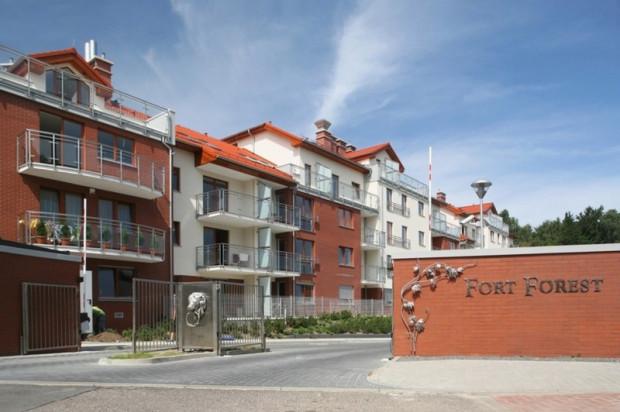 Do wykończenia budynków i ich otoczenia użyto materiałów o wysokiej jakości.