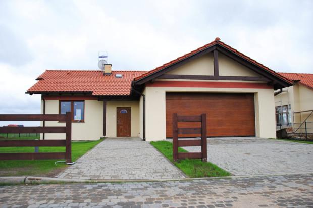 Nz. Dom w Parku Małkowo, który powstał w pierwszym etapie budowy osiedla.