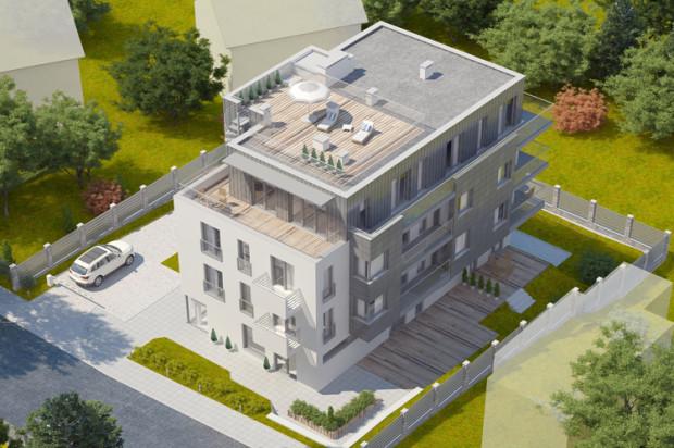 Przyszli mieszkańcy Łowickiej będą mieli do dyspozycji drewniane tarasy na parterze i obszerne balkony lub tarasy na wyższych kondygnacjach.