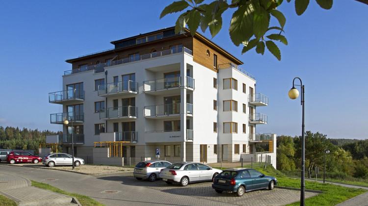 Budynek przy Tanecznej zrealizowany w ramach inwestycji w 2011 roku.