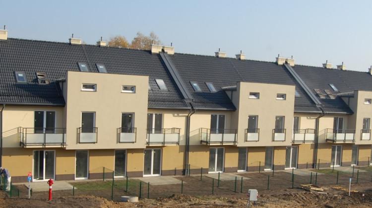 Budynki pierwszego etapu.