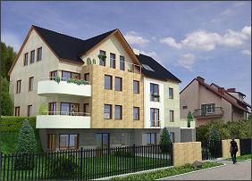 Budynek wpisuje się w zabudowę ulicy Korczaka. mat. inwestora