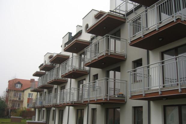 W budynku przy ul. Andaluzyjskiej jest zaledwie 18 mieszkań.