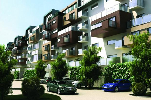Budynki Sadowej wyróżniać będzie niebanalna rzeźba i przyjazna kolorystyka.