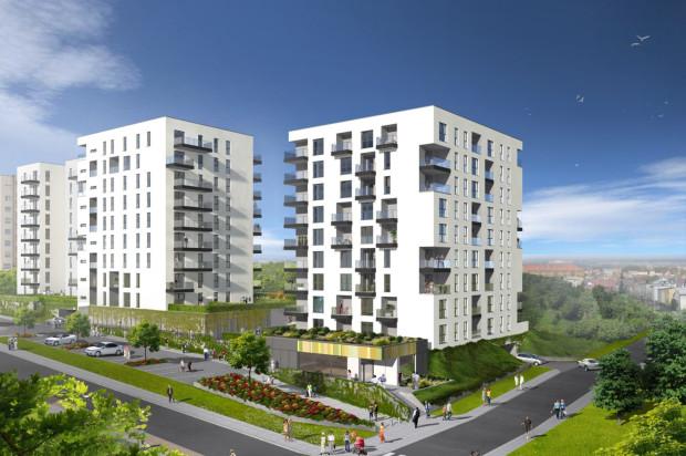 Zaletą mieszkań w budynkach Signum będą okna sięgające od podłogi do sufitu.