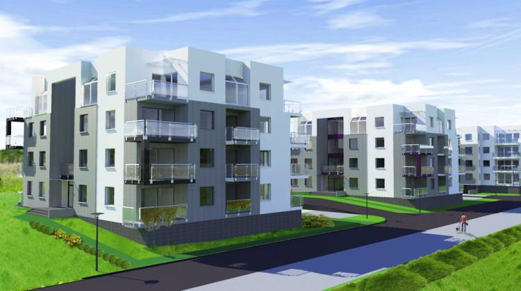 Na osiedlu Sambor stanie siedem czterokondygnacyjnych budynków.
