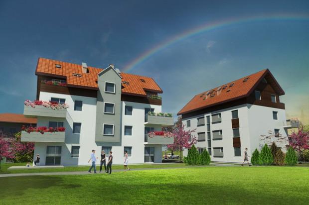 W kameralnych budynkach będzie tylko osiem mieszkań.