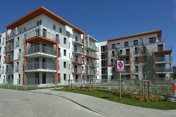 Pierwszy budynek Osiedla Nawigator został oddany do użytku w czerwcu 2012 roku.