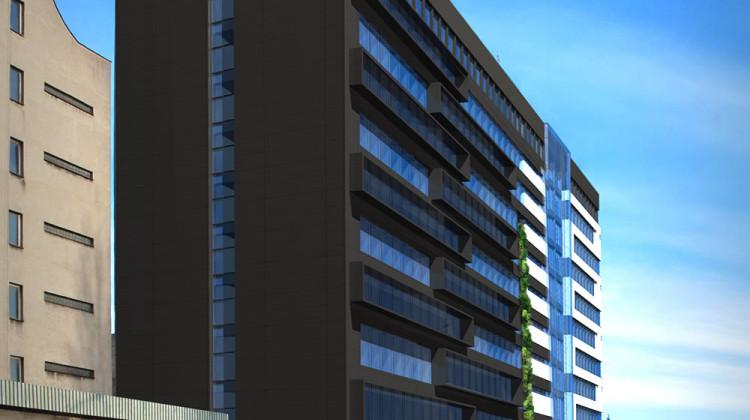 Po modernizacji budynku G-330 zmieni się jego elewacja, unowocześnione zostanie także wnętrze.