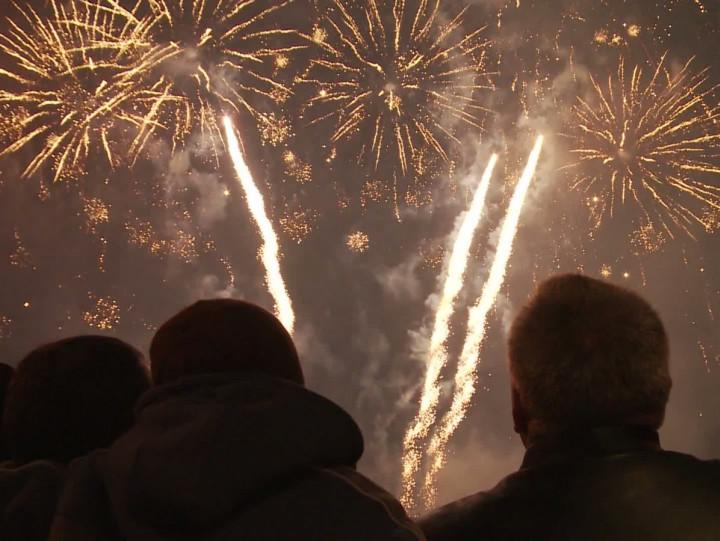 Tak Gdynia przywitała 2013 rok,