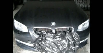Policjanci odzyskali kradzione auto marki BMW
