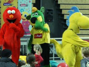 Elmo odwiedził Ergo Arenę