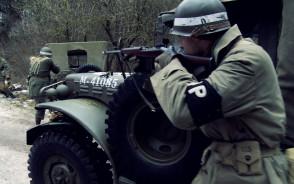 Strzelanina w lesie, czyli bitwa o Ardeny w Gdyni