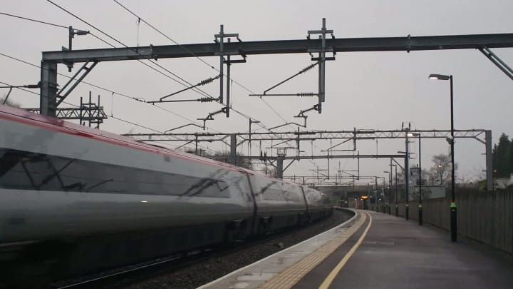 Pociągi Pendolino można oglądać teraz m.in. na brytyjskich torach.