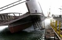 Wodowanie promu w Remontowej Shipbuilding