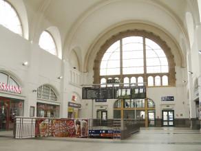Dworzec PKP juz bez antresoli