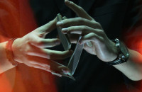 Magia kart w wykonaniu trójmiejskiego iluzjonisty