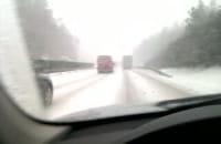 Godzina 8 rano śnieżny armagedon nadchodzi :)