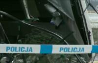 Relacja telewizyjna z miejsca wypadku autokaru z kibicami Lechii