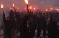 Kibice Lechii oddali hołd swoim zmarłym kolegom
