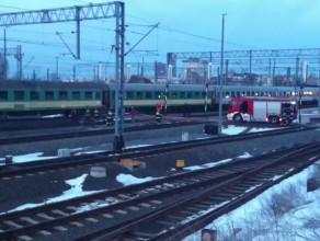 Pożar wagonu Intercity w Gdyni