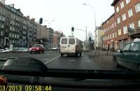 Gdańsk ul. Kartuska - pijany kierowca?