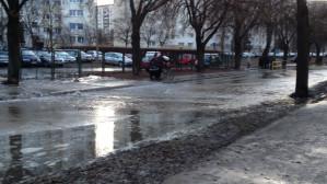 Żabianka: awaria wodociągu 9 kwietnia 2013 r.