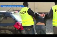 Zatrzymanie sprawcy napadu na bank w Gdyni