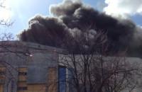 Pożar dachu Teatru Muzycznego