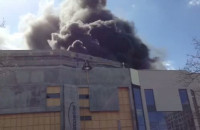 Pożar dachu Teatru Muzycznego w Gdyni