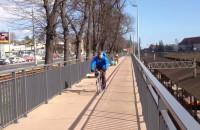 Ścieżka rowerowa wzdłuż ul. 3 maja w Gdańsku