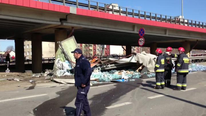 Film pokazujący miejsce wypadku.