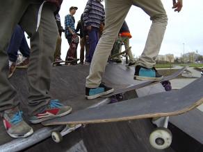 Skatepark przy Ergo Arenie juz otwarty!