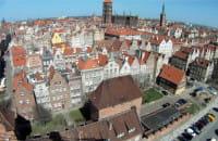 Okiem żurawia: Śródmieście Gdańska