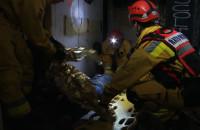 Pożar w opuszczonym hotelu - Ratownicze Manewry RATMAZ III