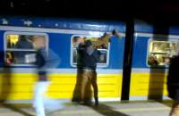 Dantejskie sceny na stacji SKM Żabianka