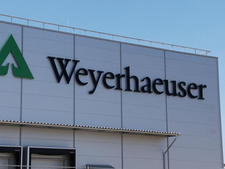 Fabryka Weyerhaeuser Poland został oficjalnie otwarta wmaju 2013 roku.