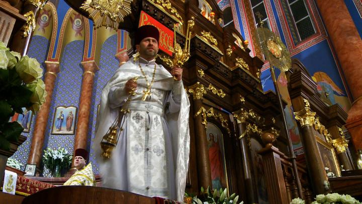 Zobacz, jak prawosławni wierni zTrójmiasta obchodzą Wielkanoc iobejrzyj wnętrza cerkwi św. Mikołaja Cudotwórcy wGdańsku Wrzeszczu.