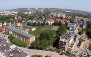 Okiem żurawia: na granicy Leszczynek i Grabówka